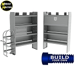 Kargo Master NV High Roof HVAC/Plumbing Steel Van Shelving Package