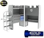 Kargo Master City Express HVAC / Plumbing Steel Van Shelving Package