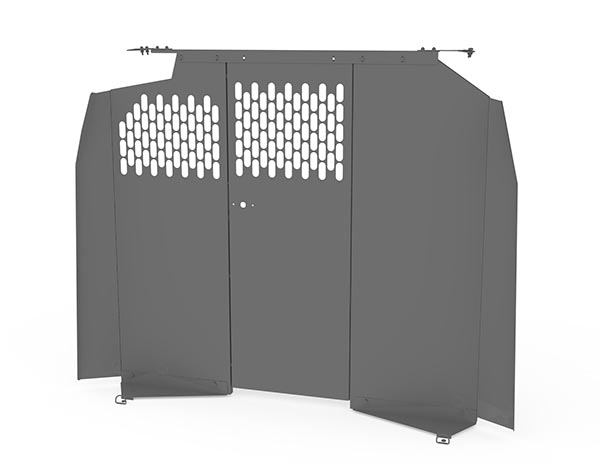 Kargo Master Full Size Standard Roof Van Interior Partition - Perforated  Panels