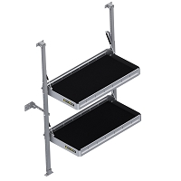 "KARGO MASTER Folding Shelf Unit - 36"" W x 20"