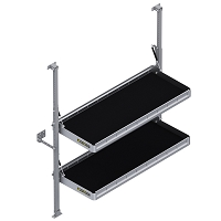 "KARGO MASTER Folding Shelf Unit - 48"" W x 20"