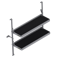 "KARGO MASTER Folding Shelf Unit - 60"" W x 20"