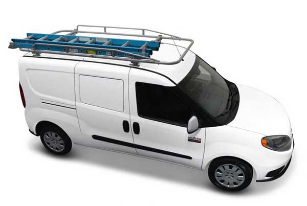 Kargo Master Steel PROIII Ladder Rack For Transit Connect (2014+), Nissan  NV200, Chevy City Express, ProMaster City, and Camper Shell Trucks