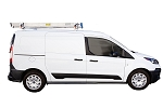 Kargo Master S-Series Crossbar Utility Van Rack with Wind Deflector For Compact Vans