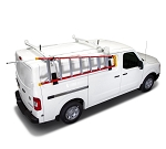 Kargo Master A-Series Drop Down Ladder Rack for Low & Standard Roof Cargo Vans