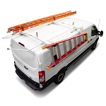 Kargo Master Double Side A-Series Drop Down Ladder Rack for Low Roof Van