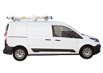 Kargo Master Aluminum Crossbar Utility Van Rack with Wind Deflector For Compact Vans