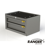 Ranger Design Steel Van Cabinet - 2 Drawer