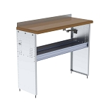 Ranger Design Workbench with Hardwood Top and 1 Shelf 48W x 40H x 18D