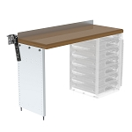 Ranger Design Workbench with Hardwood Top and Drawer Storage 48W x 32H x 18D