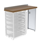 Ranger Design Workbench with Hardwood Top and Drawer Storage 48W x 40H x 14D