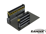 Ranger Design 10 Foot Box Truck Electrical Steel Shelving Package