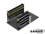 Ranger Design 10 Foot Box Truck HVAC Shelving Package