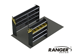 Ranger Design 10 Foot Box Truck Service Steel Shelving Package