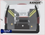Ranger Design Build Your Own Metris Steel Shelving Package