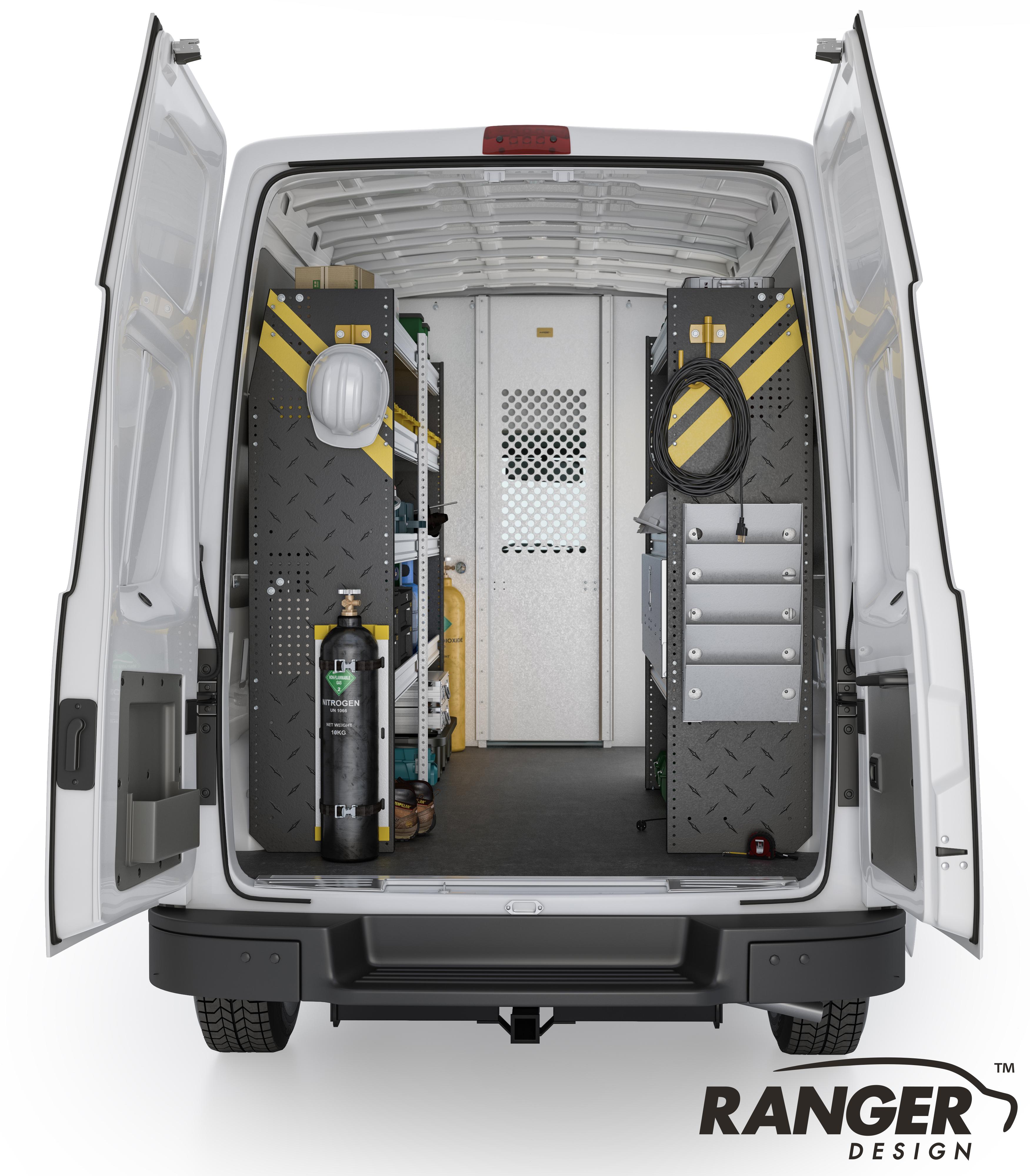 Ranger Design Hvac Steel Shelving Package For 146 U0026quot  Wb