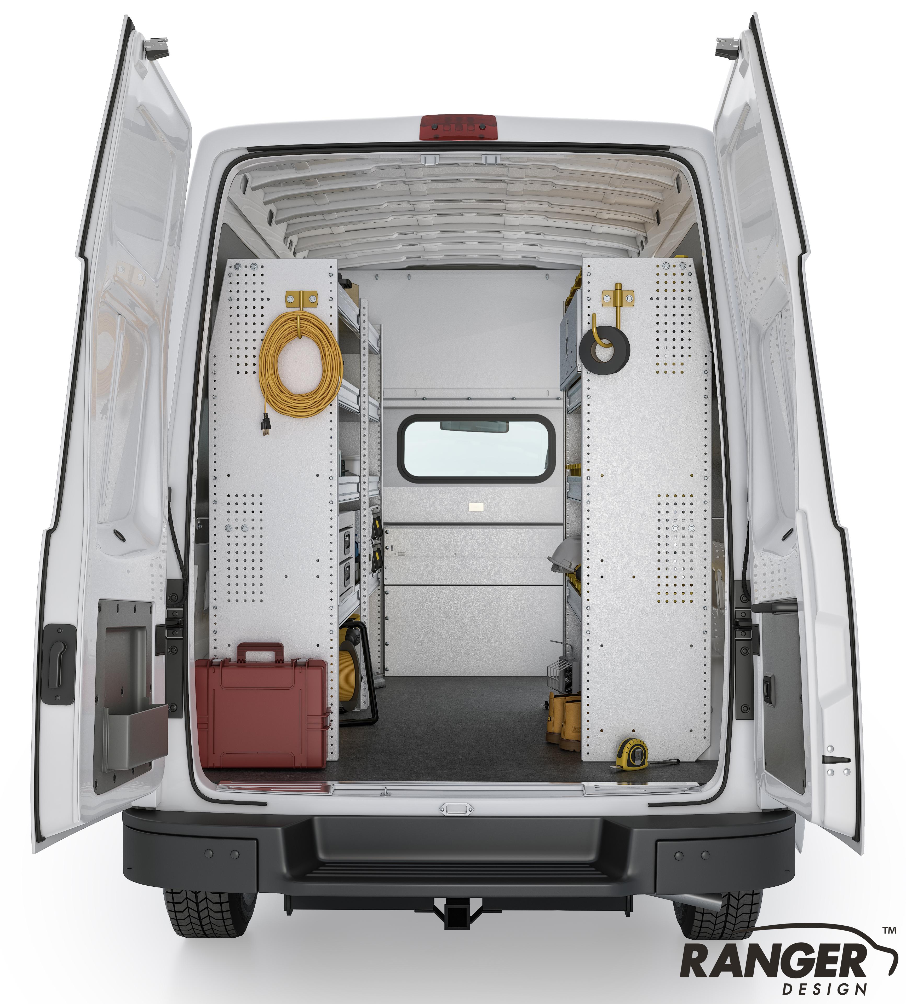 Ranger Design Aluminum Shelving Package For 146 U0026quot Wb Nissan