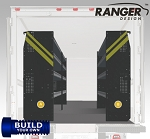 Ranger Design 10' FT Box Truck Build Your Own Shelving Package