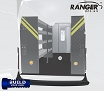 Ranger Design Build Your Own Sprinter Steel Shelving Package for 170