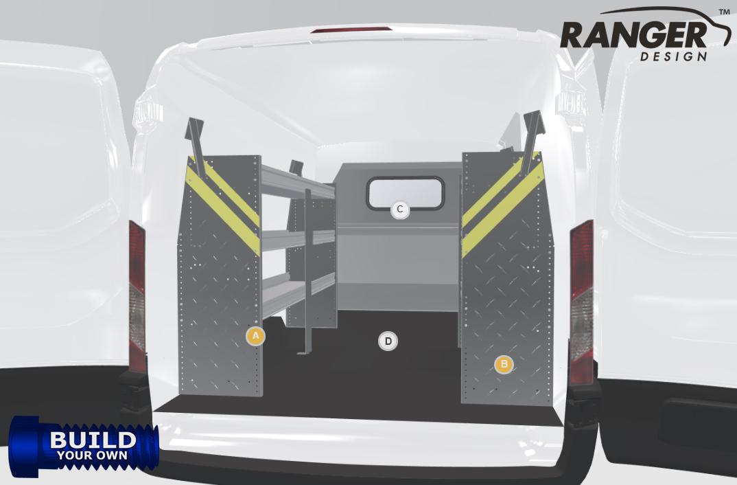 Ranger Design Build Your Own Nissan Nv Standard Roof