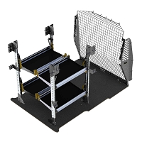 Ranger Design Delivery Fold-Away Shelving Package for the ProMaster City