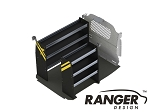Ranger Design Deluxe Contractor Steel Shelving Package for Nissan NV200 and Chevy City Express