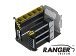 Ranger Design Deluxe HVAC Steel Shelving Package for Nissan NV200 and Chevy City Express