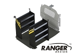 Ranger Design Base Contractor Steel Shelving Package for Nissan NV200 and Chevy City Express