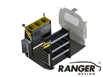 Ranger Design Base Electrical Steel Shelving Package for Nissan NV200 and Chevy City Express