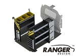 Ranger Design Base HVAC Steel Shelving Package for Nissan NV200 and Chevy City Express