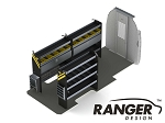 Ranger Design Electrical Steel Shelving Package for the 170