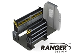 Ranger Design Base Electrical Steel Shelving Package for the 144