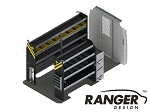 Ranger Design HVAC Steel Shelving Package for the 144