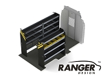Ranger Design Service Steel Shelving Package for 148