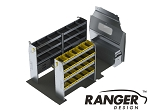 Ranger Design Aluminum Shelving Package for 148