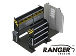 Ranger Design Electrical Steel Shelving Package for 130
