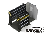 Ranger Design Service Steel Shelving Package for 130