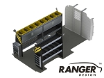 Ranger Design Electrical Steel Shelving Package for 155