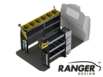 Ranger Design Deluxe HVAC Steel Shelving Package for Mercedes Metris 135in Wheelbase