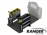 Ranger Design Base Steel Electrical Shelving Package for Mercedes Metris 126in Wheelbase