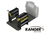 Ranger Design Base Steel Service Shelving Package for Mercedes Metris 126in Wheelbase
