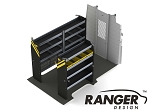 Ranger Design Service Steel Shelving Package for 146