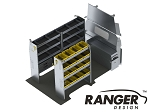Ranger Design Aluminum Shelving Package for 146