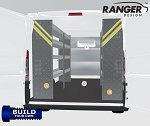 Ranger Design Build Your Own ProMaster Steel Shelving Package for the 118