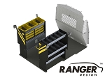 Ranger Design Base Electrical Steel Shelving Package for ProMaster City