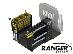 Ranger Design Base HVAC Steel Shelving Package for ProMaster City