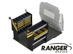 Ranger Design Base Service Steel Shelving Package for ProMaster City