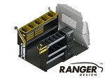 Ranger Design Deluxe HVAC Steel Shelving Package for ProMaster City