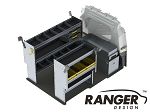 Ranger Design Deluxe Aluminum Shelving Package for ProMaster City