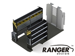 Ranger Design Electrical Steel Shelving Package for 159